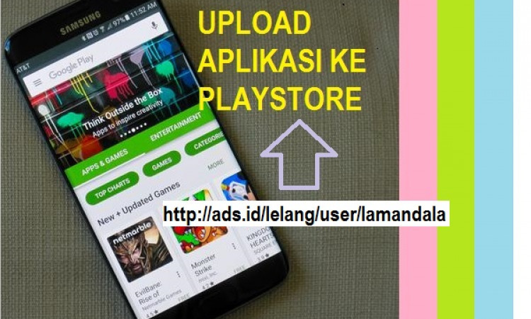 Jasa Upload Aplikasi Android ke Playstore Sehari Langsung Publish