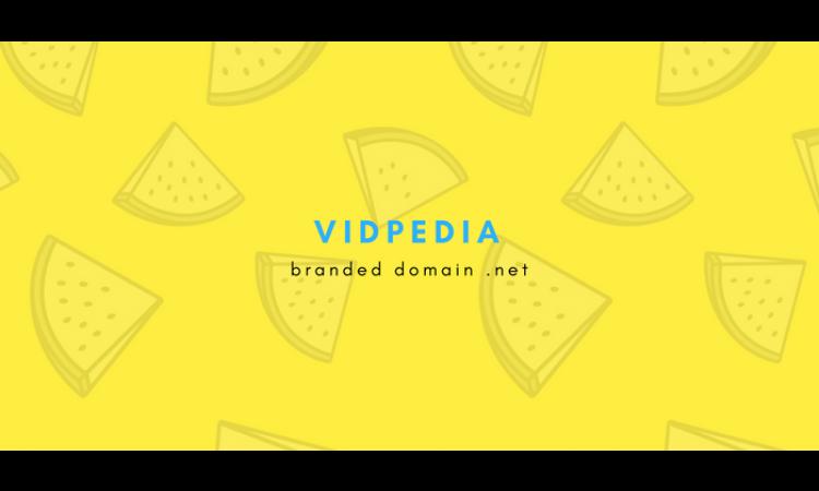 [Branding Domain] VidPedia.net